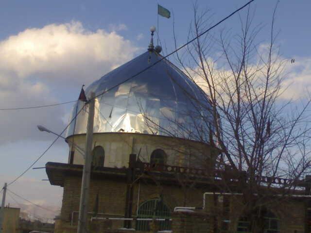 امامزاده مشعلدار علی وحدت آباد تنها امامزاده شهر فیدونشهر